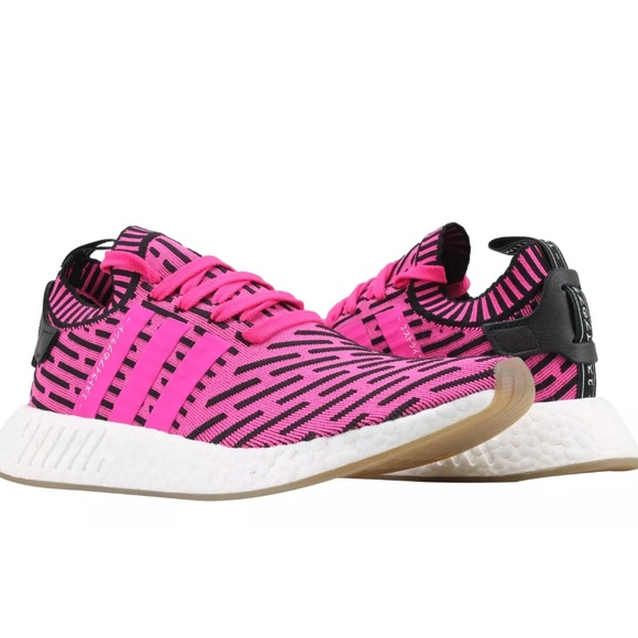 buy popular 19b0c fd7f7 Adidas Pink BOOST NMD R2 Prime Knit Sneakers NWT